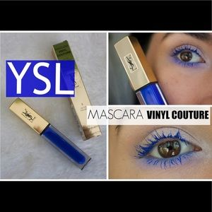 BNIB YSL 5 I'm The Trouble Blue Vinyl Couture